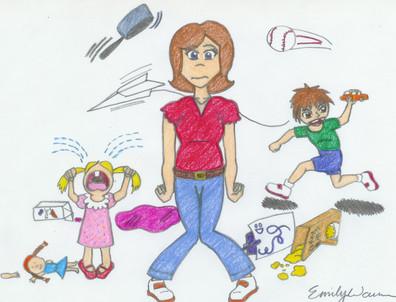Overwhelmed Parent