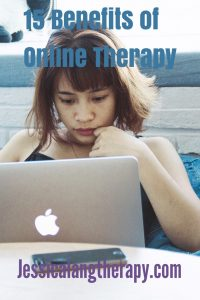 15 Benefits to online therapy