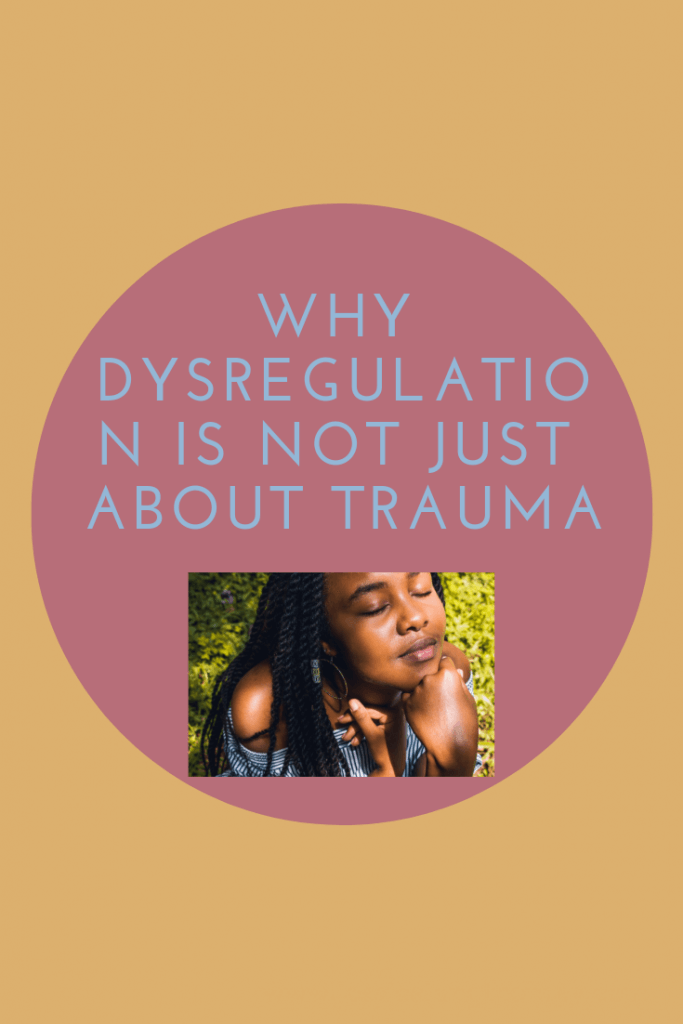 trauma, dysregulation, and stress response system