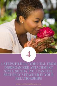 Disorganized attachment unhealed fear